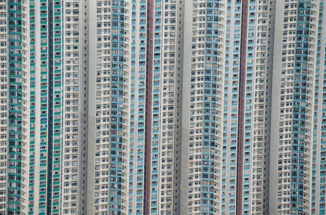 дома в Китае, пейзаж