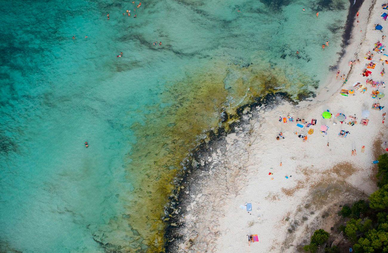 пляж в Испании, пейзаж
