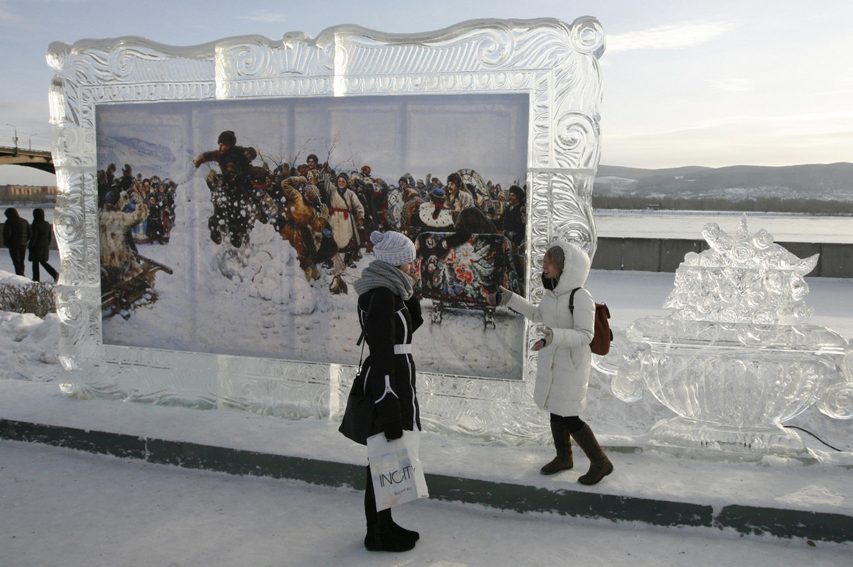 картинная галерея во льдах