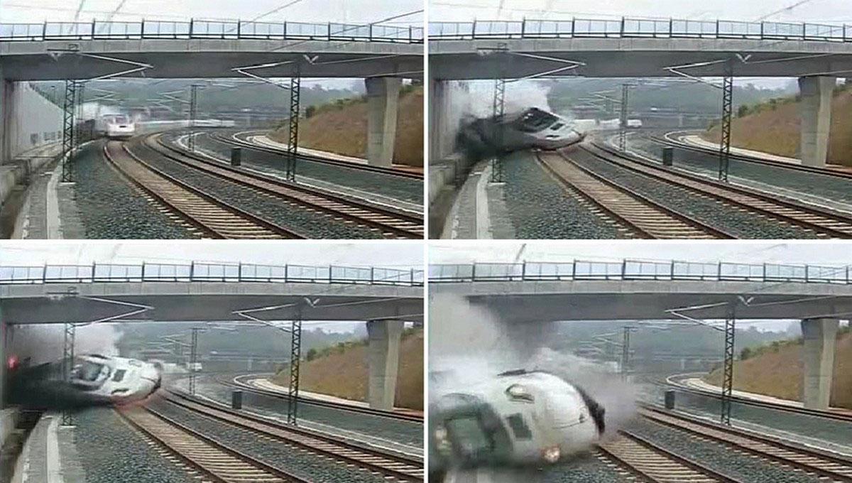 крушения поезда