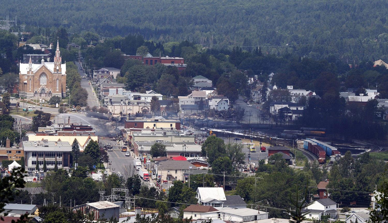 Центр канадского городка