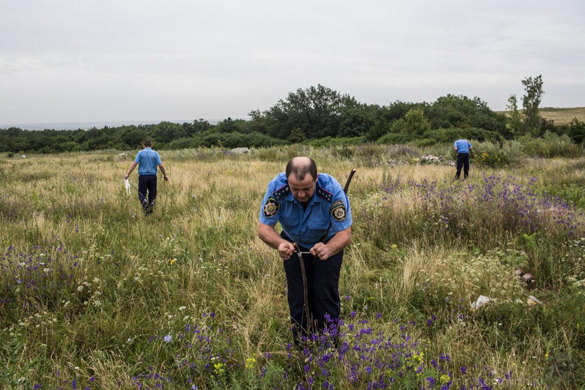 Украинские милиционеры