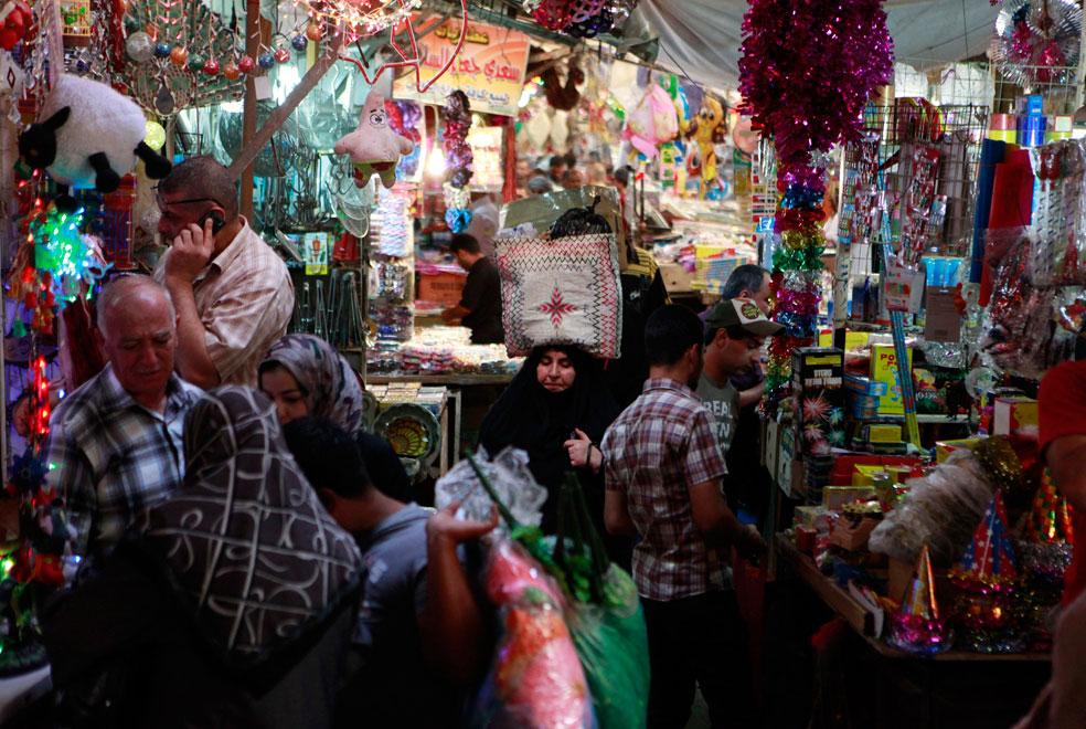 Жители Багдада, фото Курбан-байрам