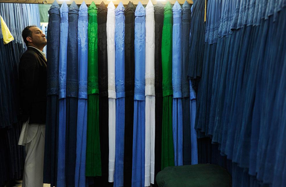 магазин в Кабуле, фото Курбан-байрам