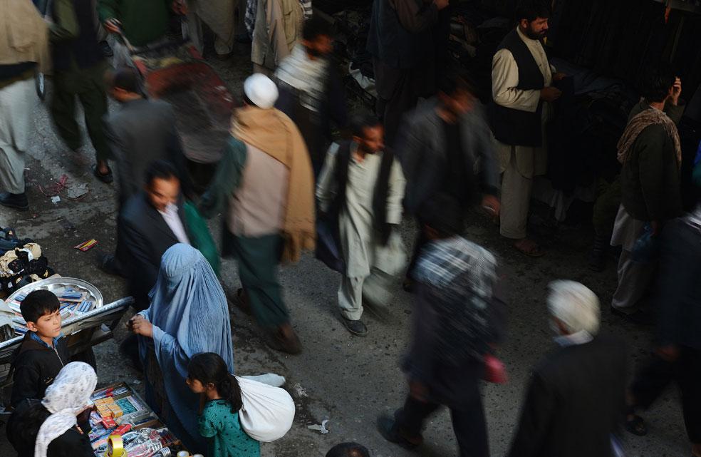 рынок в Афганистане, фото Курбан-байрам