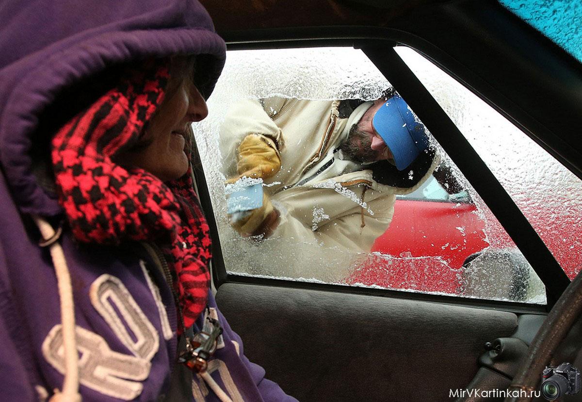 чистка стек автомобиля