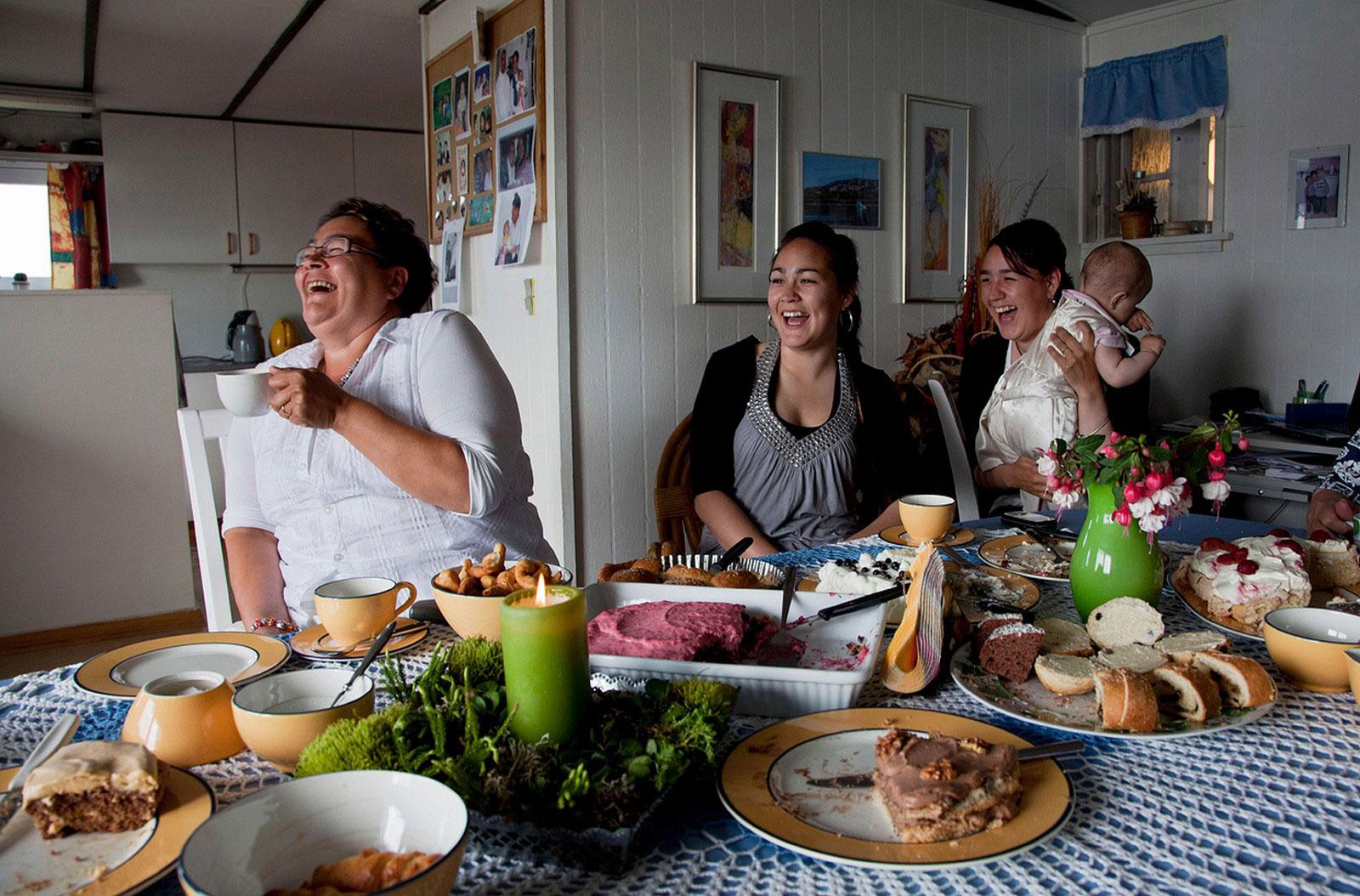 эскимосская семья