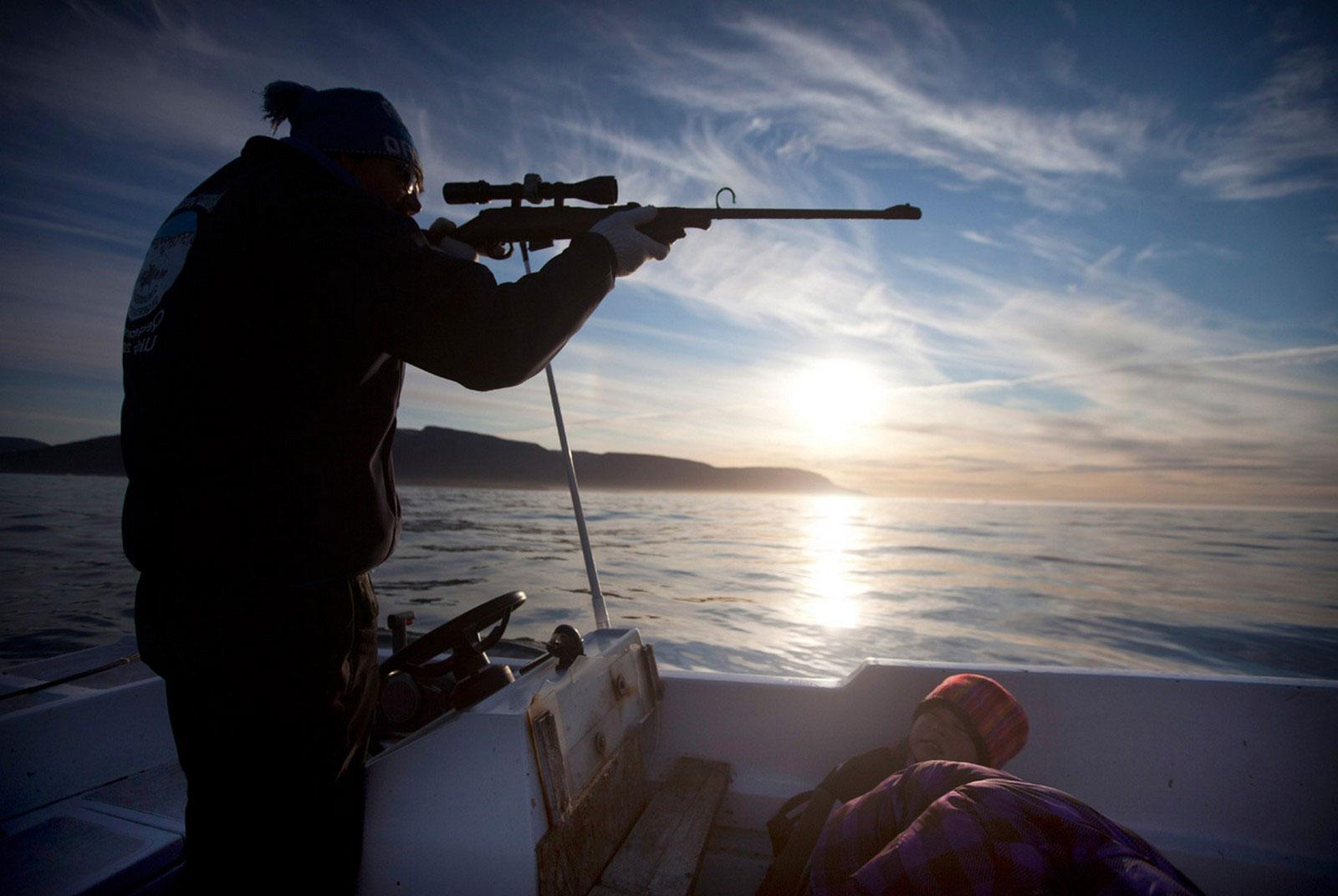 охота в Гренландии