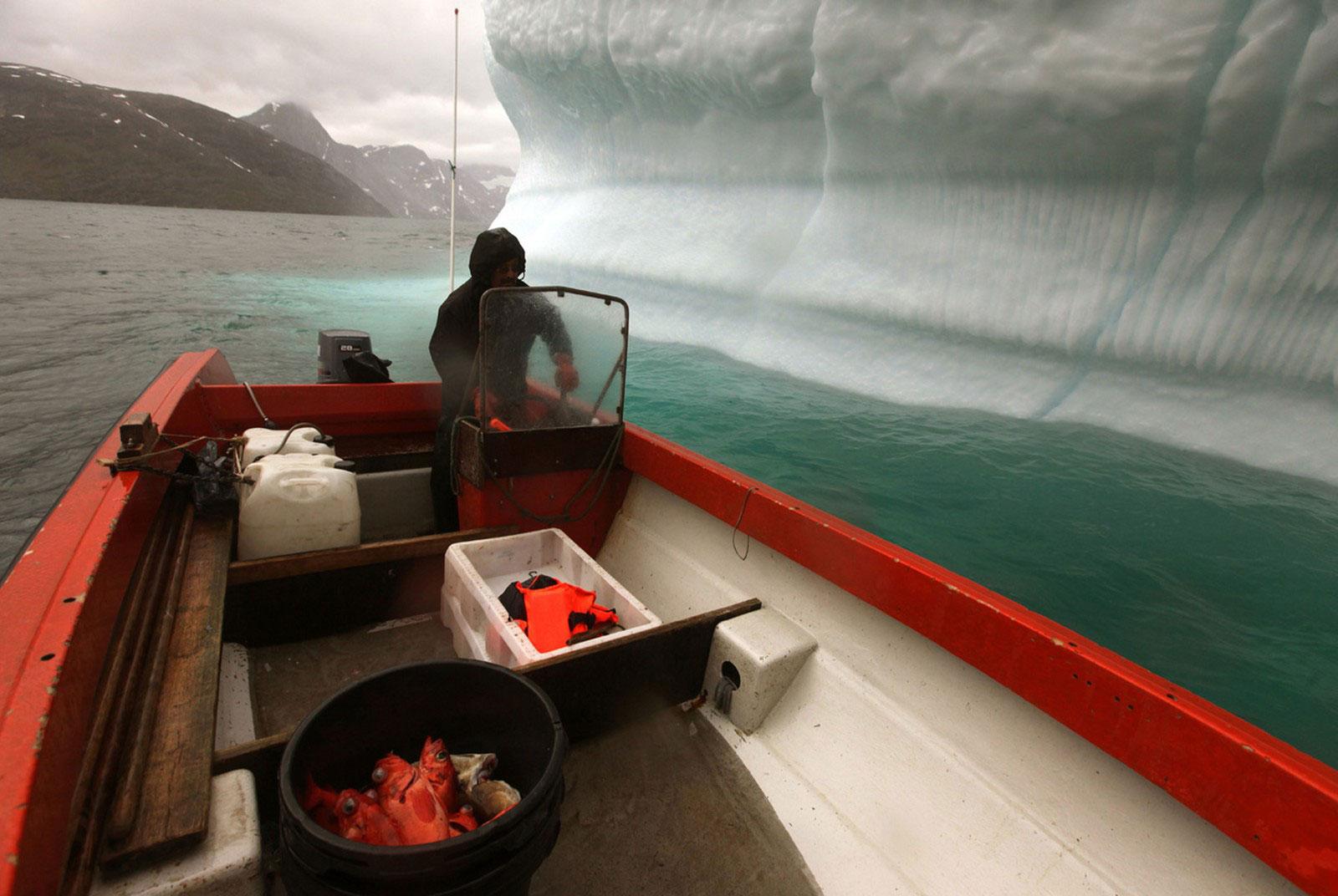 Гренландский рыбак