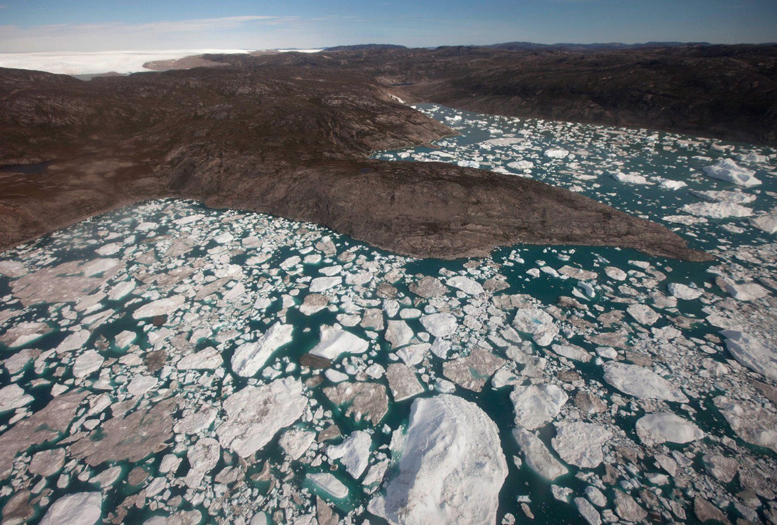 льды Гренландии