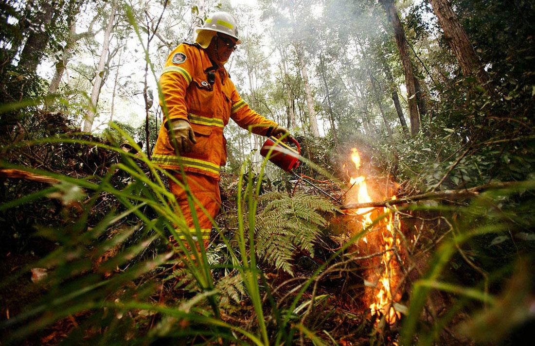 Засуха и жара, фото из Австралии
