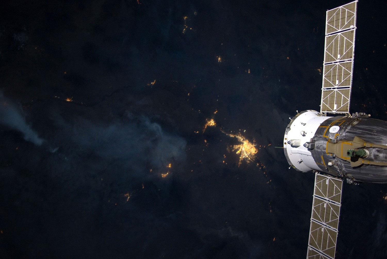горят леса на юго-западе Эль-Пасо, фото лесных пожаров