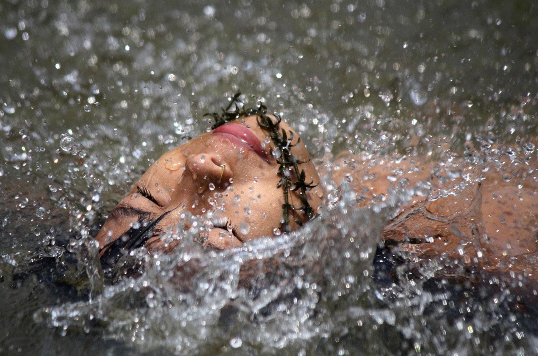 купание в жаркий день, фото летнее