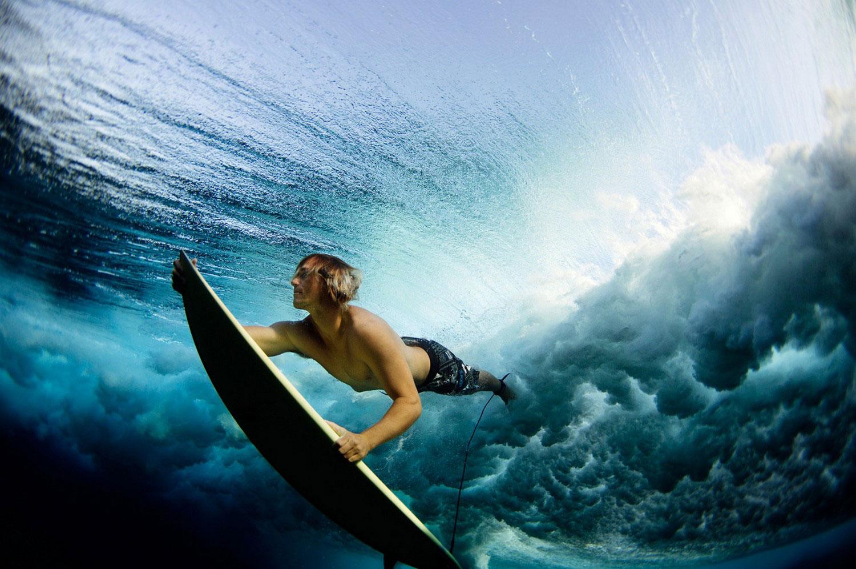 серфинг на Фиджах, фото летнее