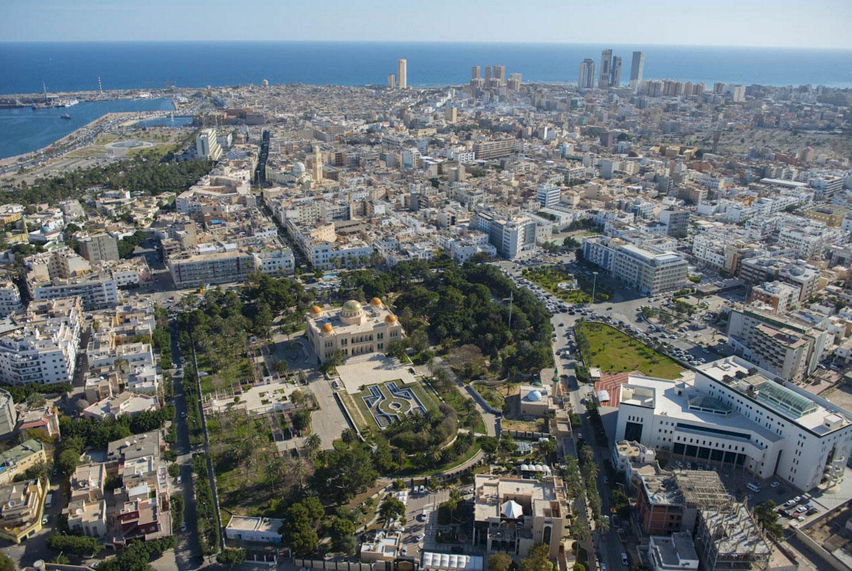 Бывшая резиденция в Триполи