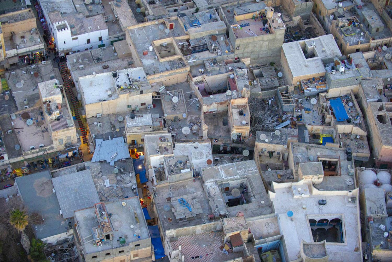 крыши домов в Ливии