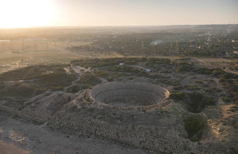 Амфитеатр в древнем городе