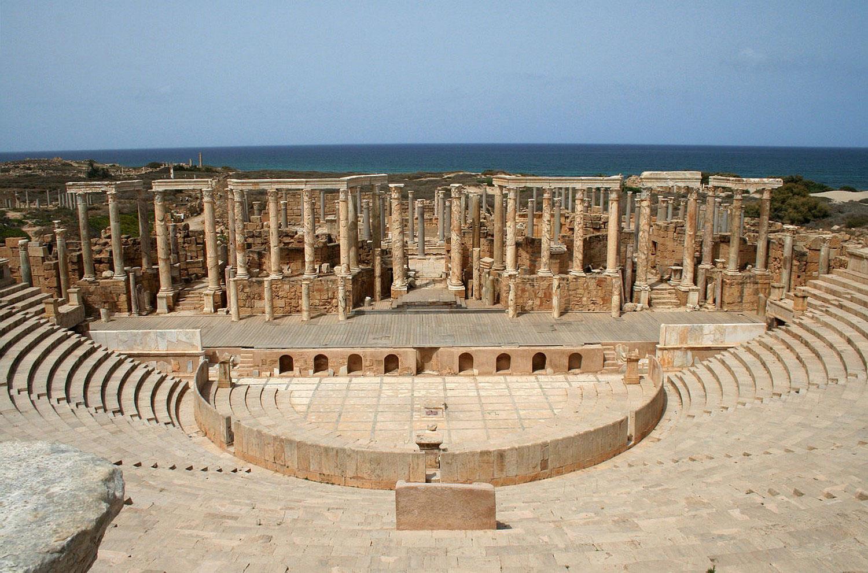 театр в древнем городе Ливии