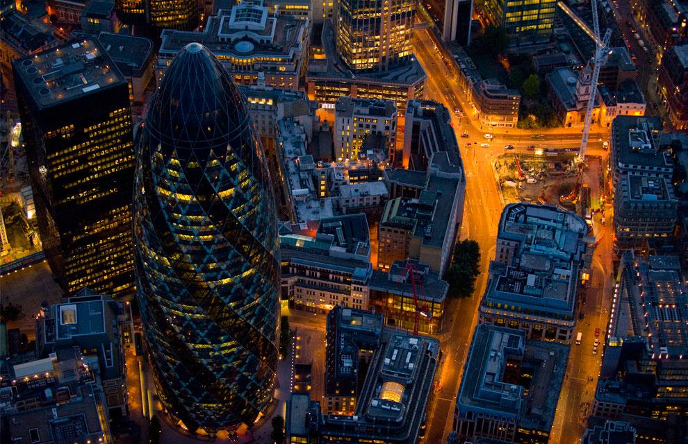 Башня «Мэри-Экс 30», Англия, фото