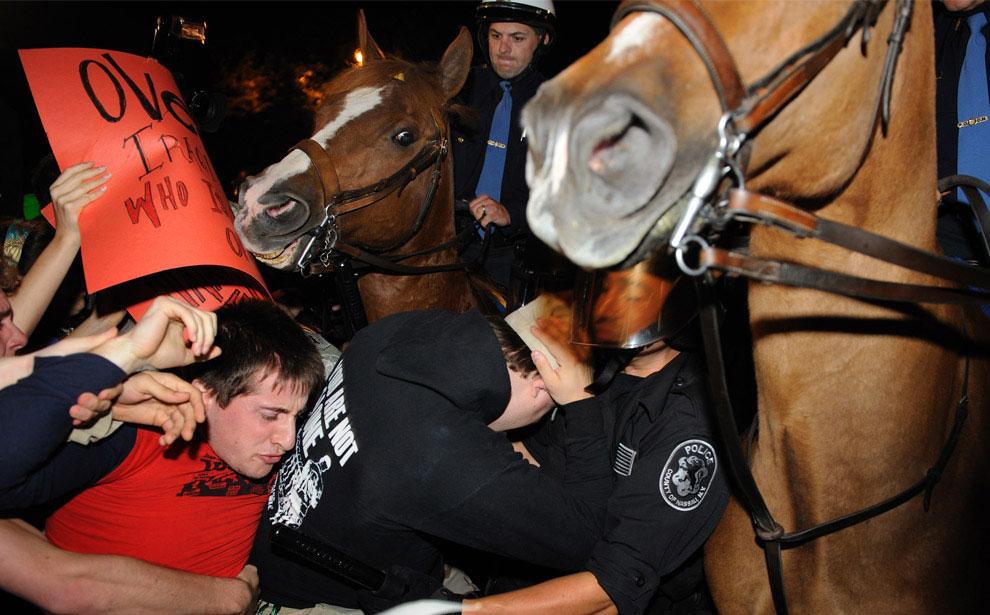 конная полиция, фото