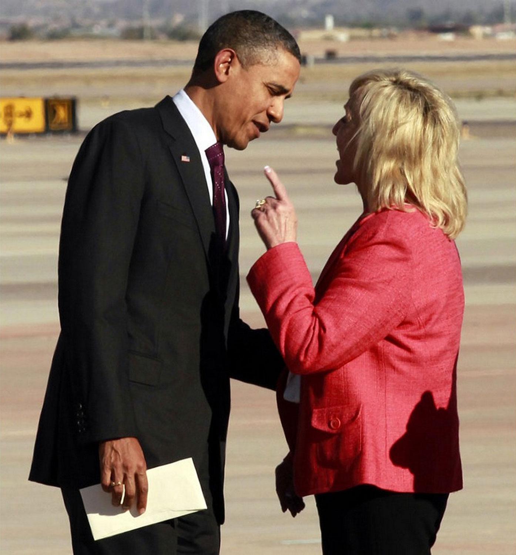 губернатор Аризоны и президент США, фото