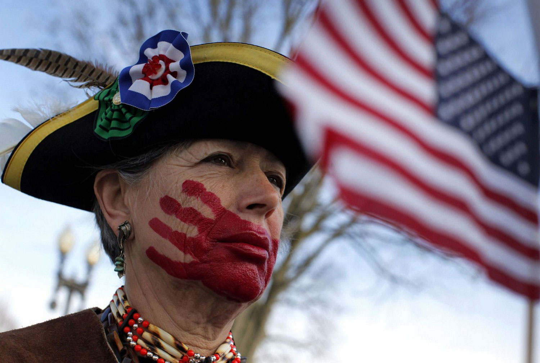 митинг в Вашингтоне, фото