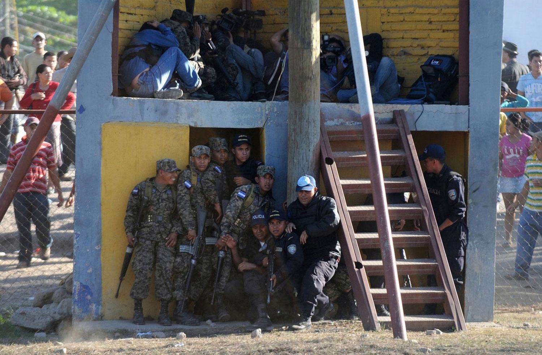 тюрьма в Гондурасе