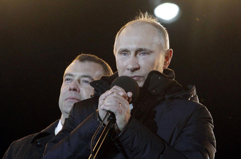 президент России Путин, фото