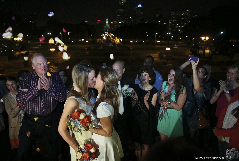 однополая свадьба