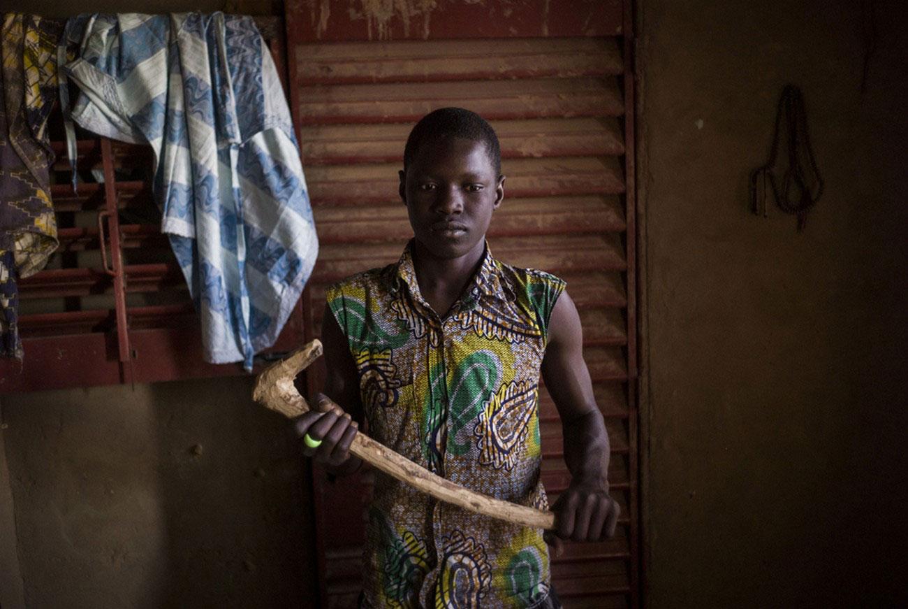Малийский мальчик, фото