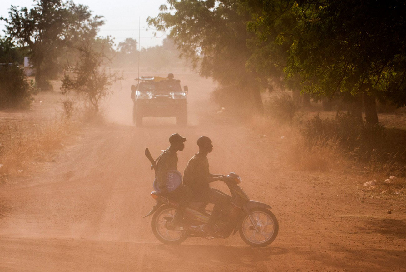 Французские военнослужащие, фото Мали