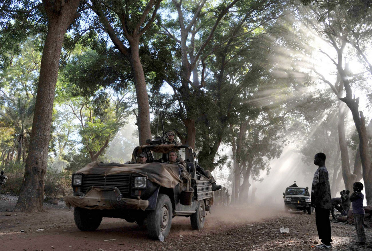 французские солдаты, фото Мали