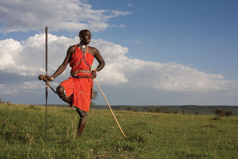 Традиции племени масаи, фото