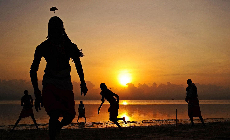 пляж в Момбасе, фото