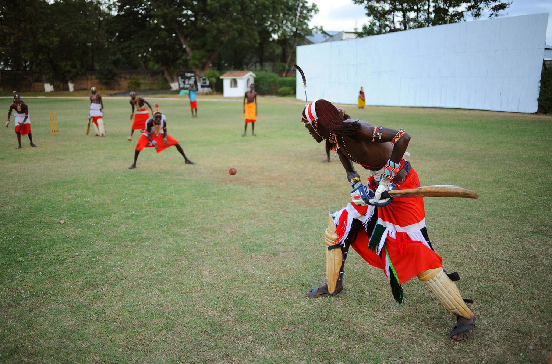люди племени масаи, фото