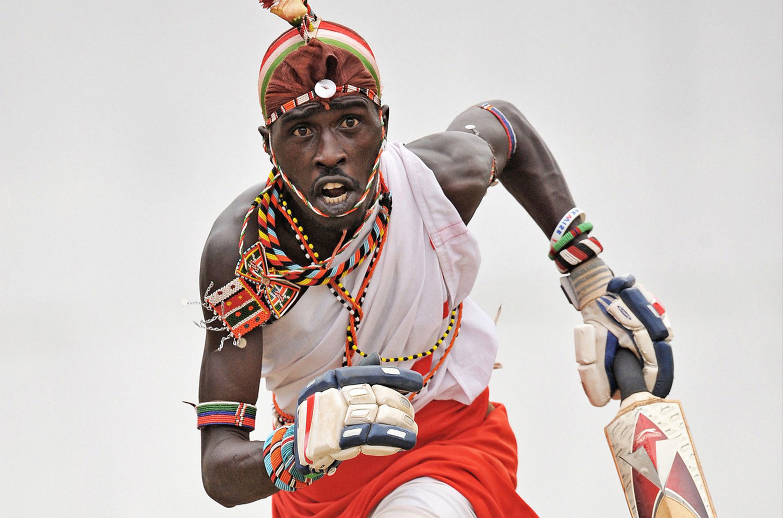 команда воинов масаи, фото
