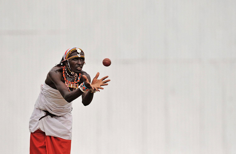 крикет у воинов масаи, фото