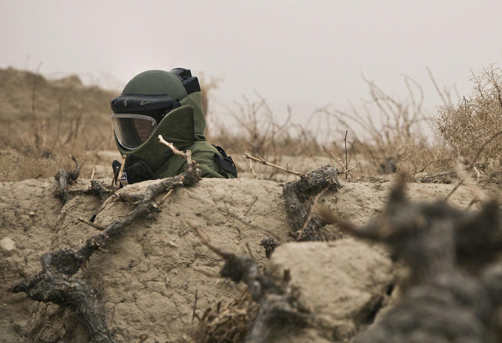 Специалист по обезвреживанию боеприпасов