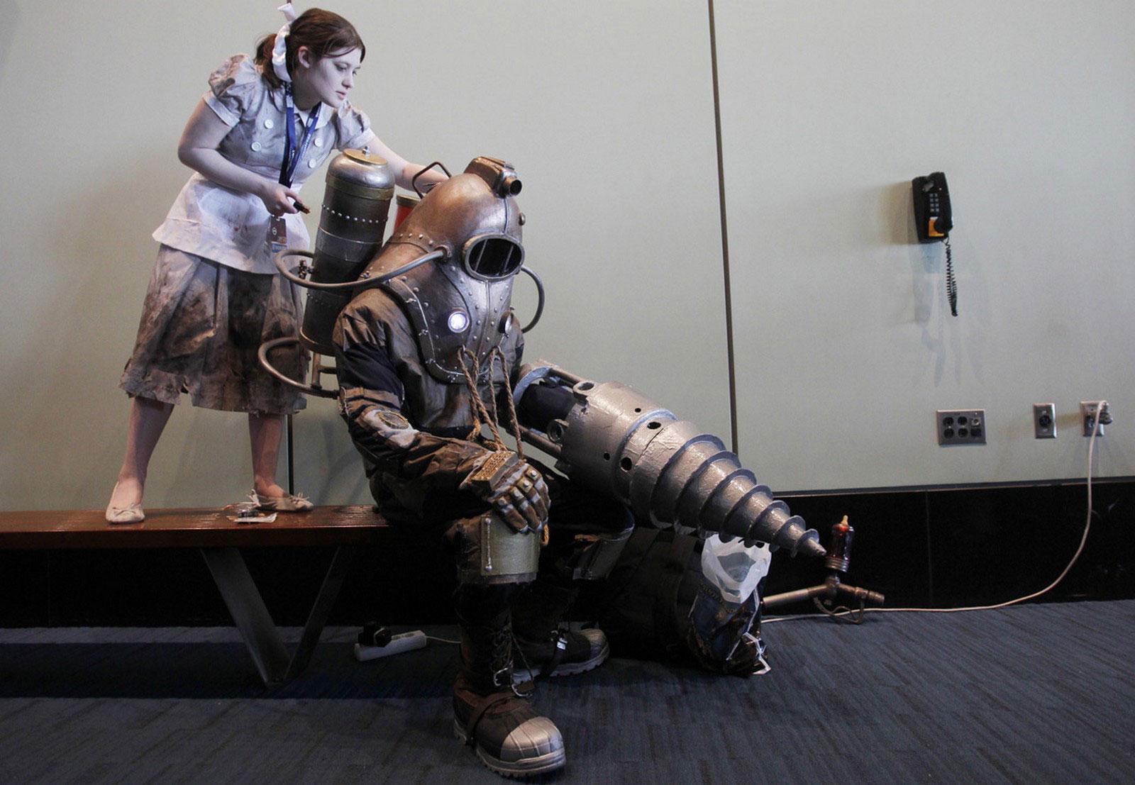 презентация видеоигры BioShock