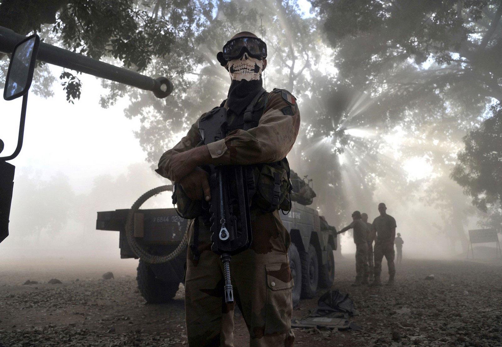 Солдат французского легиона