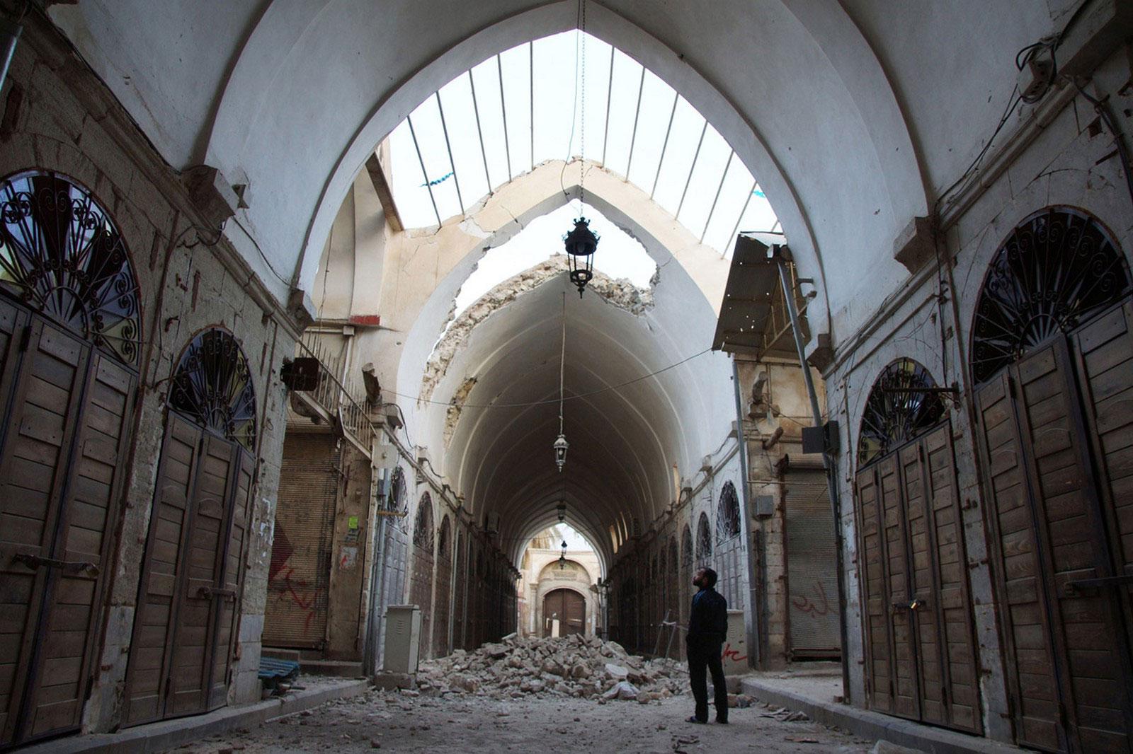 повреждения древней мечети