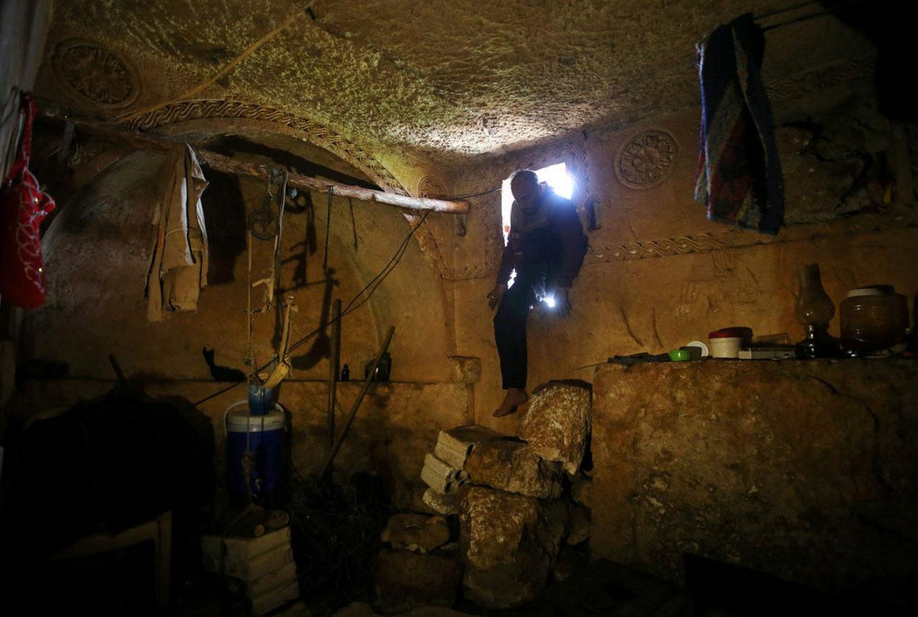 подземная римская гробница