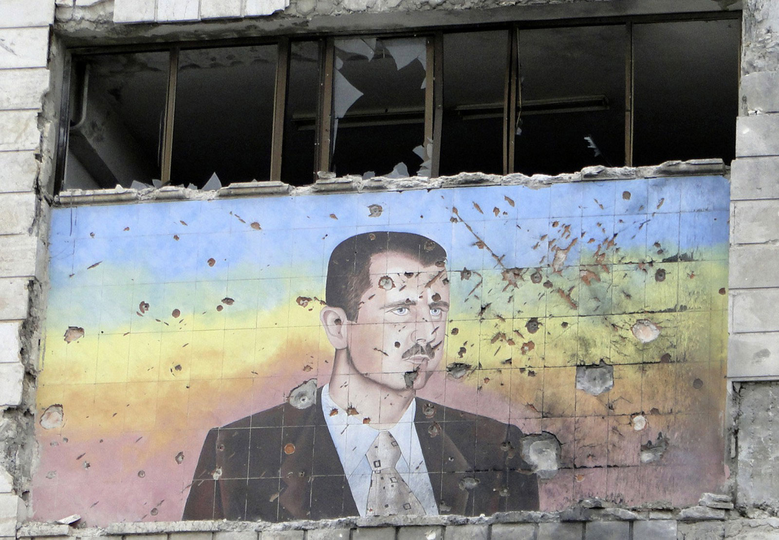 изображение президента Сирии
