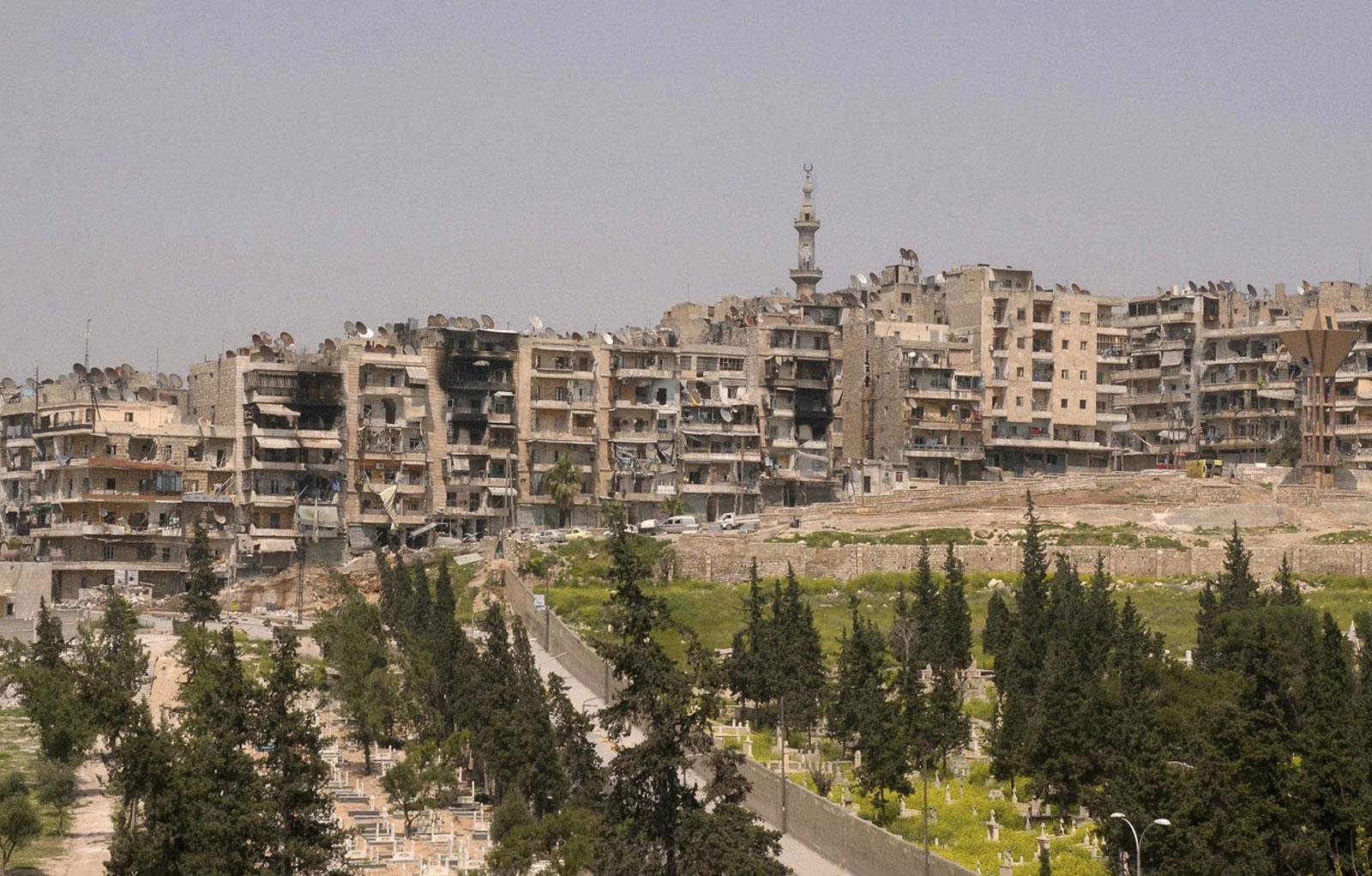 район Шейх Максуд, Сирия