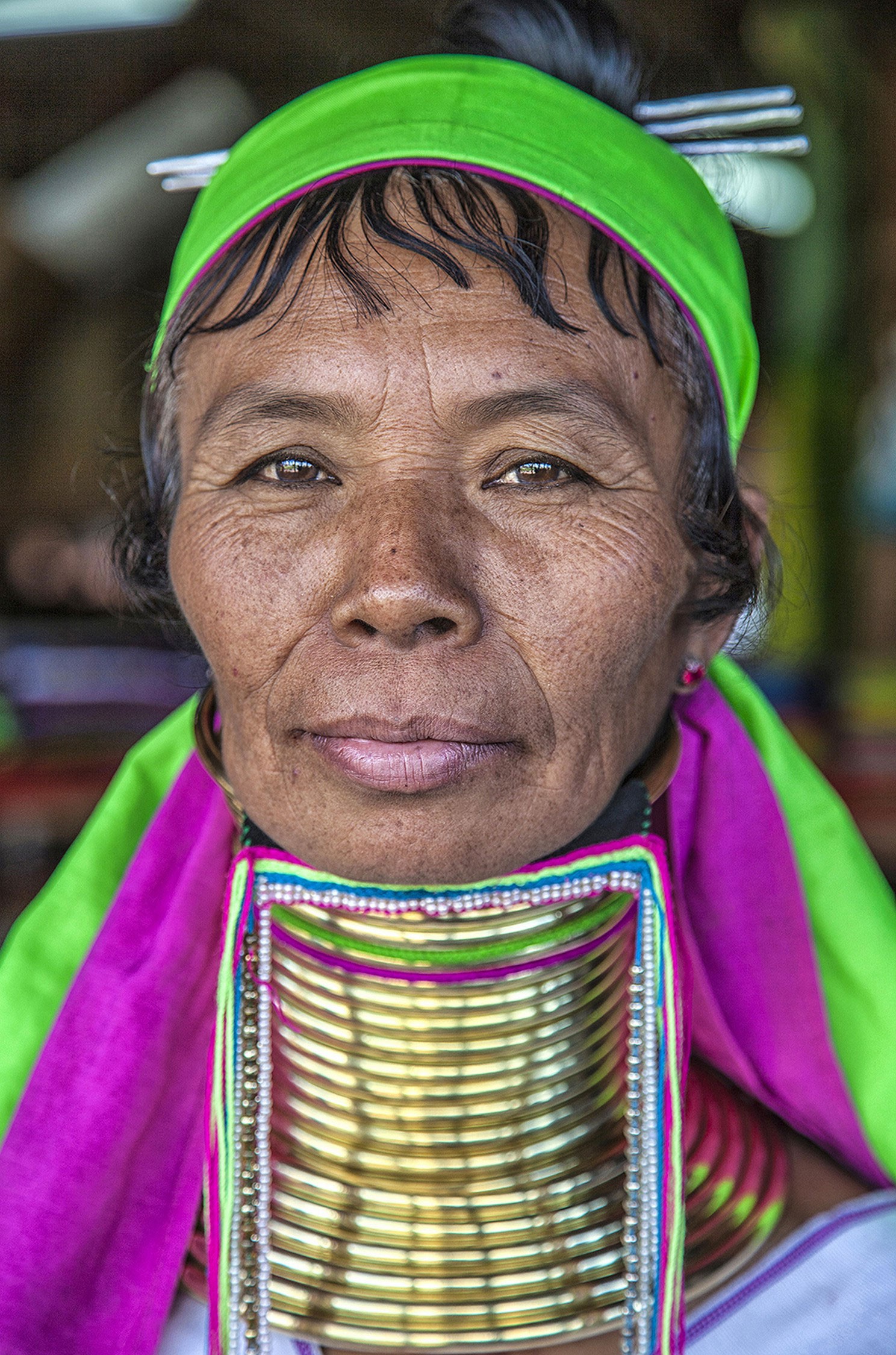 Женщина племени Padaung