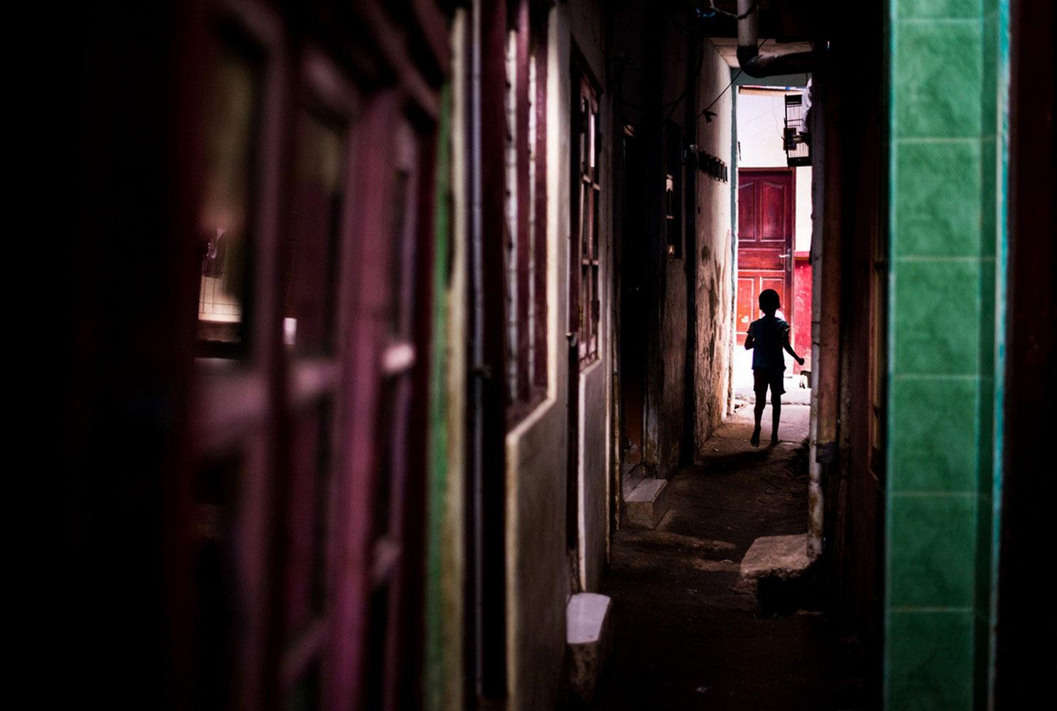 переулки в Восточной Джакарте