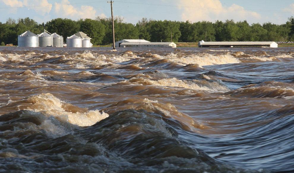Наводнение в штате Айова