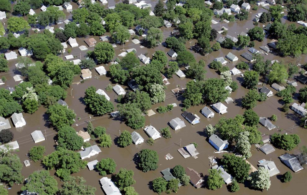 пострадавшие от наводнения