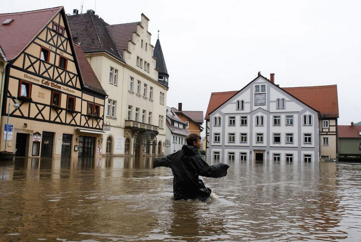 наводнение в Зальцбурге