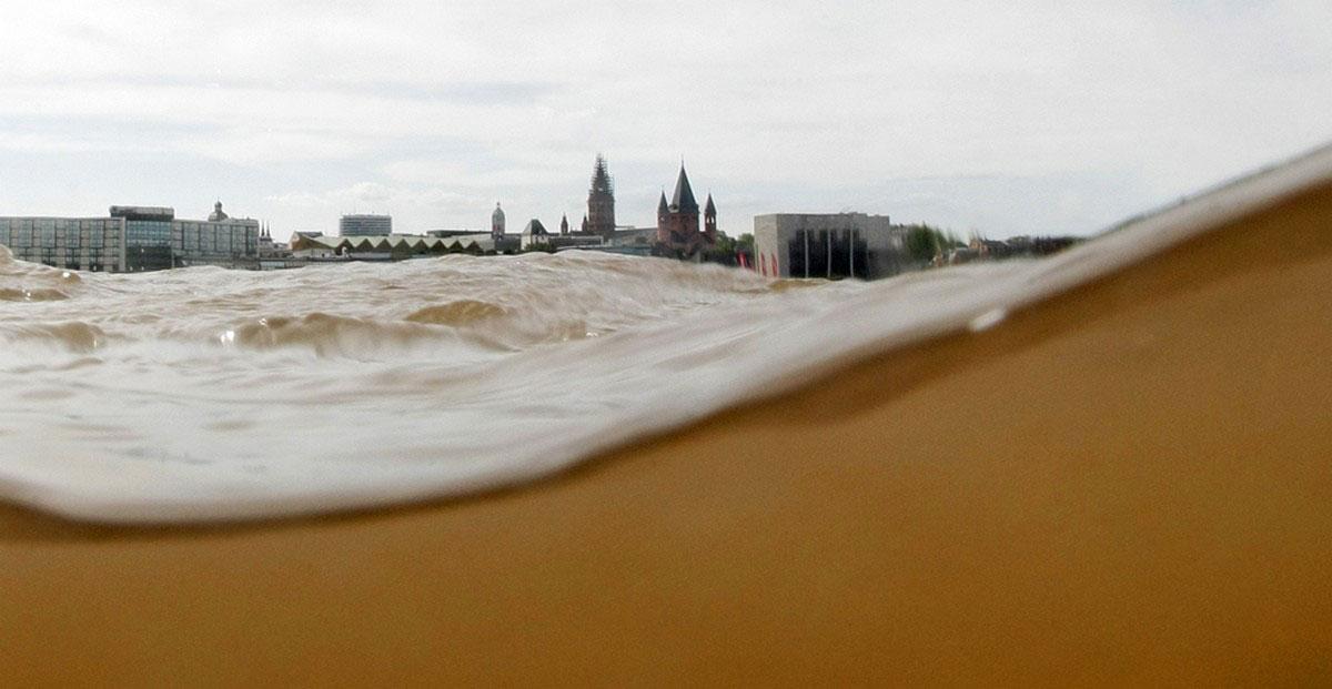 река в Германии